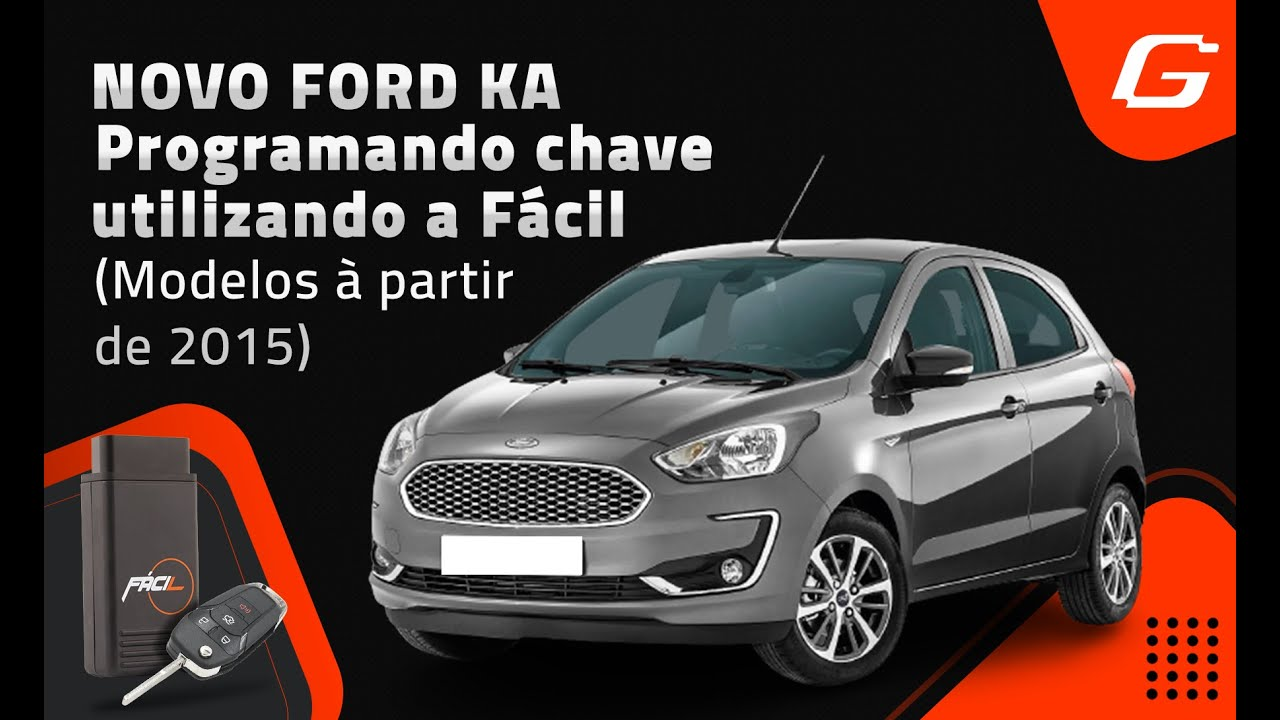 Tutorial Codificacao Novo Ford Ka Youtube