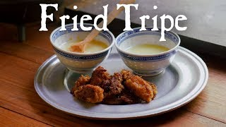 Fried Tripe with Dipping Sauce