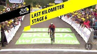 Dylan Teuns wint zesde etappe Tour de France op La Planche des Belles Filles