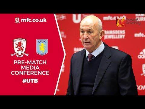Aston Villa Media Conference Second Leg