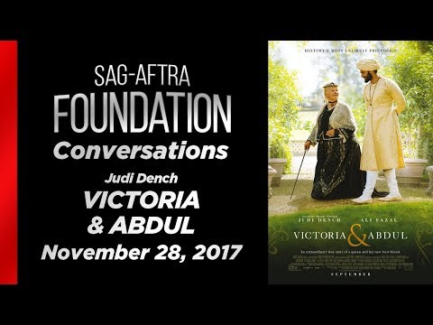 Conversations with Judi Dench of VICTORIA & ABDUL
