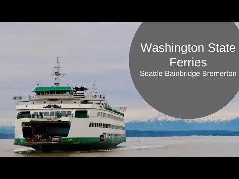 Washington State Ferries: Seattle - Bainbridge Island - Bremerton