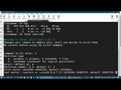 Resize The LVM Online in Linux | Extend & Reduce (Shrink) LVM in RHEL | Logical Volume Management from YouTube · Duration:  19 minutes 6 seconds