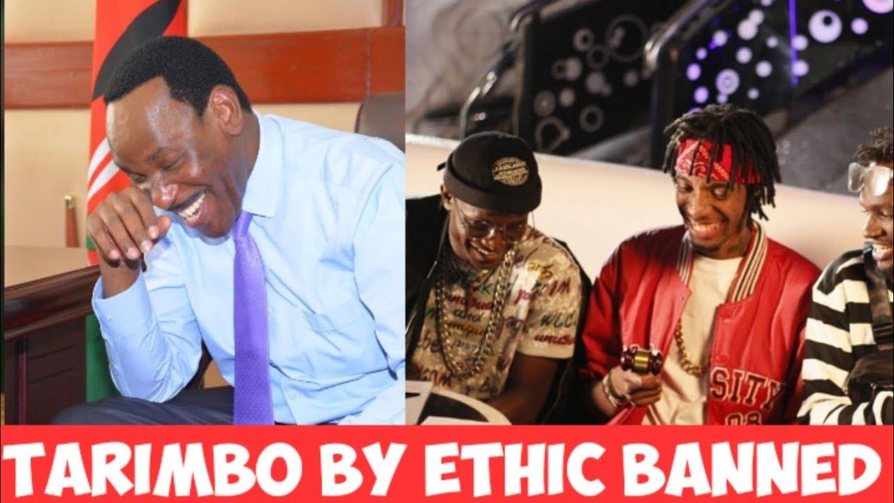 Download #ethic #tarimbo #ezekielmutua   EZEKIEL MUTUA BANS TARIMBO BY ETHIC  GOOGLE RESPONDS