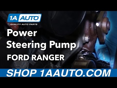 How to Install Replace Power Steering Pump 4.0L Ford Ranger Buy Parts at 1AAuto.com