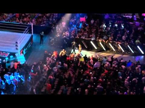 Raw After Mania 2016: AJ Styles, Kevin Owens, Chris Jericho And Cesaro Entrances
