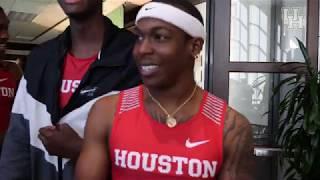 Houston Track & Field: Media Day