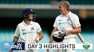 Fraser-McGurk leads Vics to tense win over NSW | Marsh Sheffield Shield 2020-21