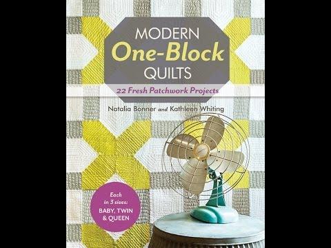 Modern One Block Quilts