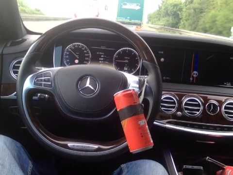 Mercedes Active Lane Assist fooled with soda can