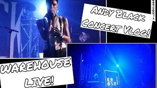 Andy Black Concert Vlog - The Homecoming Tour
