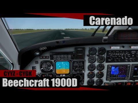 P3D ᴴᴰ | Carenado Beech 1900D | Toronto (CYYZ) - Kingston (CYGK) |