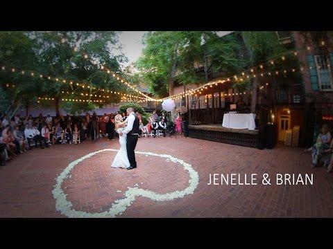 Jenelle & Brian's Wedding Film   Sacramento Courtyard 'D' Oro