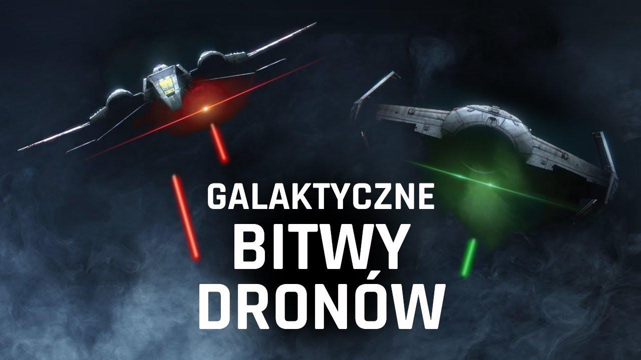 Galaktyczne bitwy- kolekcjonerskie drony STAR WARS!