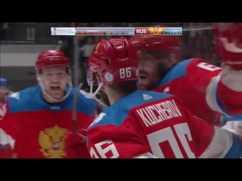 Tarasenko, Panarin help Russia edge Czech Republic