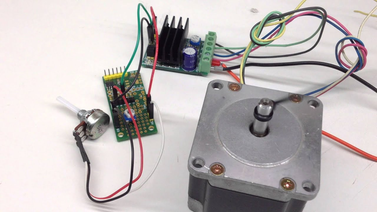 Very Slow Ramping Pulse Generator For Stepper Motor Driver Youtube Led Circuit