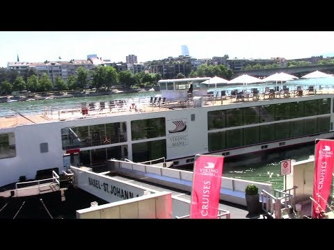 20170526 Vlog - Amsterdam to Basel and the start of our cruise