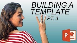 Comment Créer Un Modèle de présentation PowerPoint: Les Modèles de Diapositives (3 de 3)