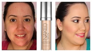 Probando: Naked Skin Foundation de Urban Decay Thumbnail