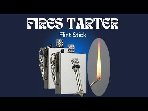 Fire Starter Flint Stick Unboxing & Review | Waterproof Match for Camping