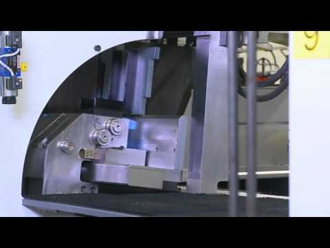 #45 Sheet Metal Production Line Video of Electrical Enclosur