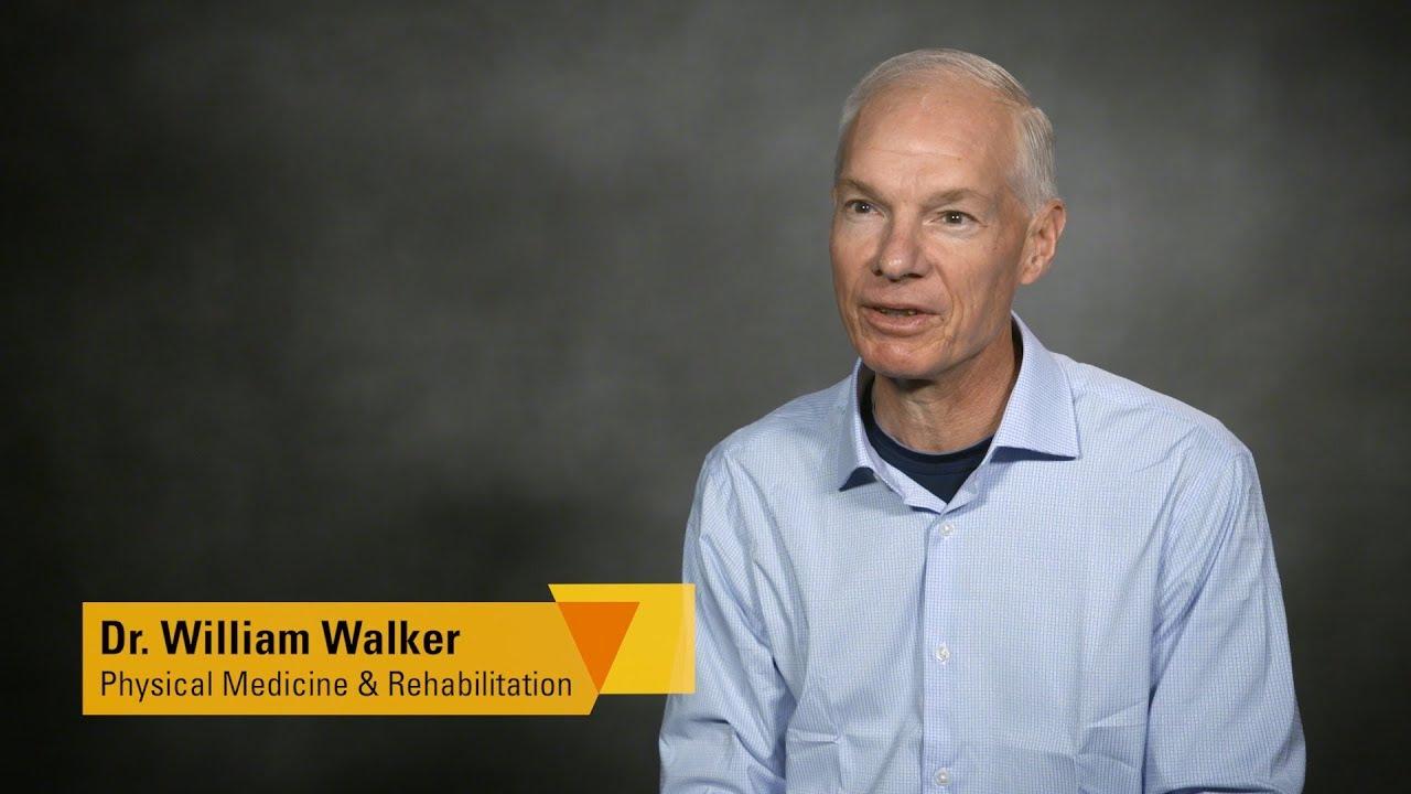 Dr  William Walker, Physical Medicine and Rehabilitation, VCU Health