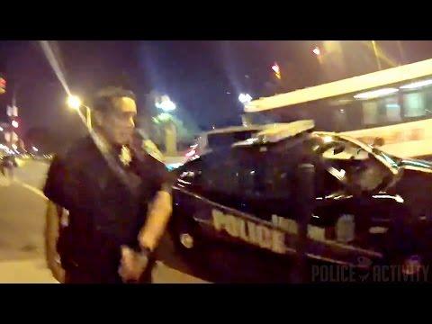Pokémon-Jäger rammt Polizeiwagen