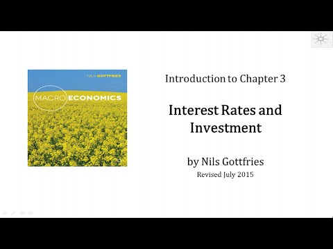 INTRO CHAPTER 3 Interest Rates and Investment