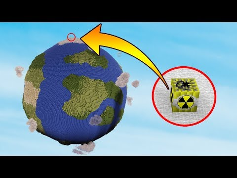 Thumbnail: NUKE VS EARTH | Minecraft