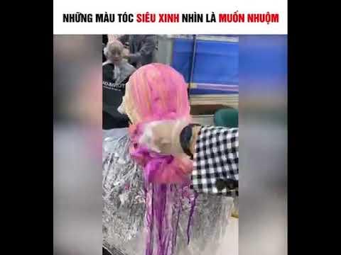 Những màu tóc siêu xinh nhìn là muốn nhuộm – Tiktok Trung Quốc   Tổng hợp những kiểu tóc nữ đẹp mới nhất
