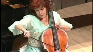 """Piazzolla """"Adios Nonino""""  Christine Walevska cello Akimi Fukuhara piano"""