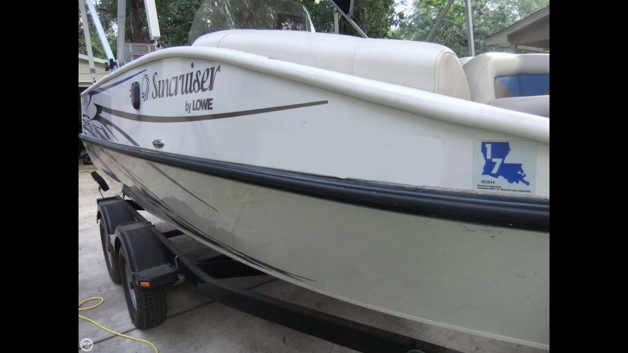 lowe tahiti deck boat
