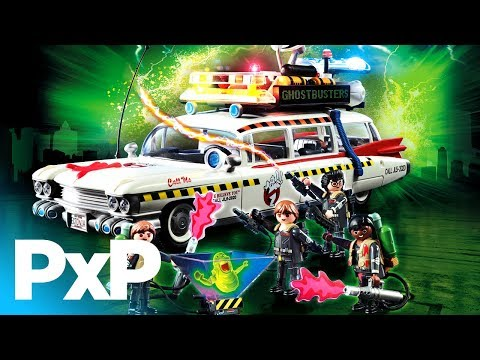 Celebrate 35 years of Ghostbusters with Playmobil's Ecto-1A! | A Toy Insider Play by Play