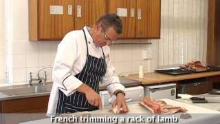 Video Cutting the Lamb Chop Section into Classic, Lean, Lamb Chops and a French Trimmed Rack of Lamb download MP3, 3GP, MP4, WEBM, AVI, FLV Desember 2017