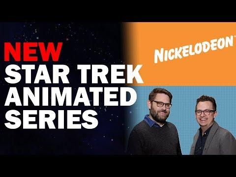 New Star Trek Animated Show Announced! | Nickelodeon & CBS Partnership