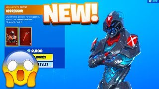 Fortnite Item Shop! *NEW* OPPRESSOR SKIN! (August 18th, 2019)