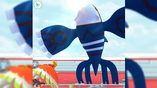 First Ever Legendary Raid Kyogre  with location hack