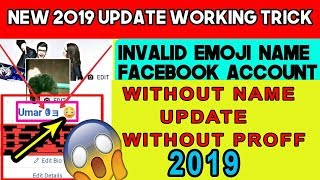 Download How To Create Emoji Name Facebook Account Without