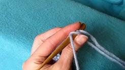 Tensioning onto needle, Oslo Stitch, Neulalle kiristäminen - Neulakinnas, Nalbinding