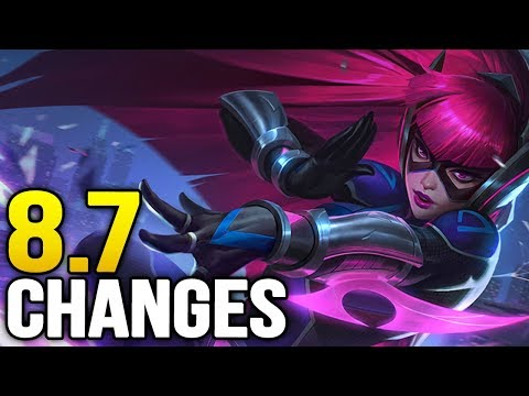 Big changes coming soon in Patch 8.7 (League of Legends)