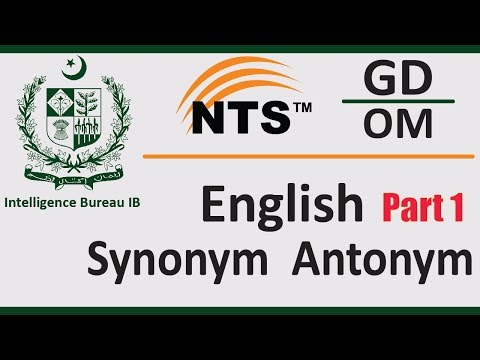ib-test-preparation- -english-part-1-synonym,-antonym- -pakistan-ib-nts-test-preparation