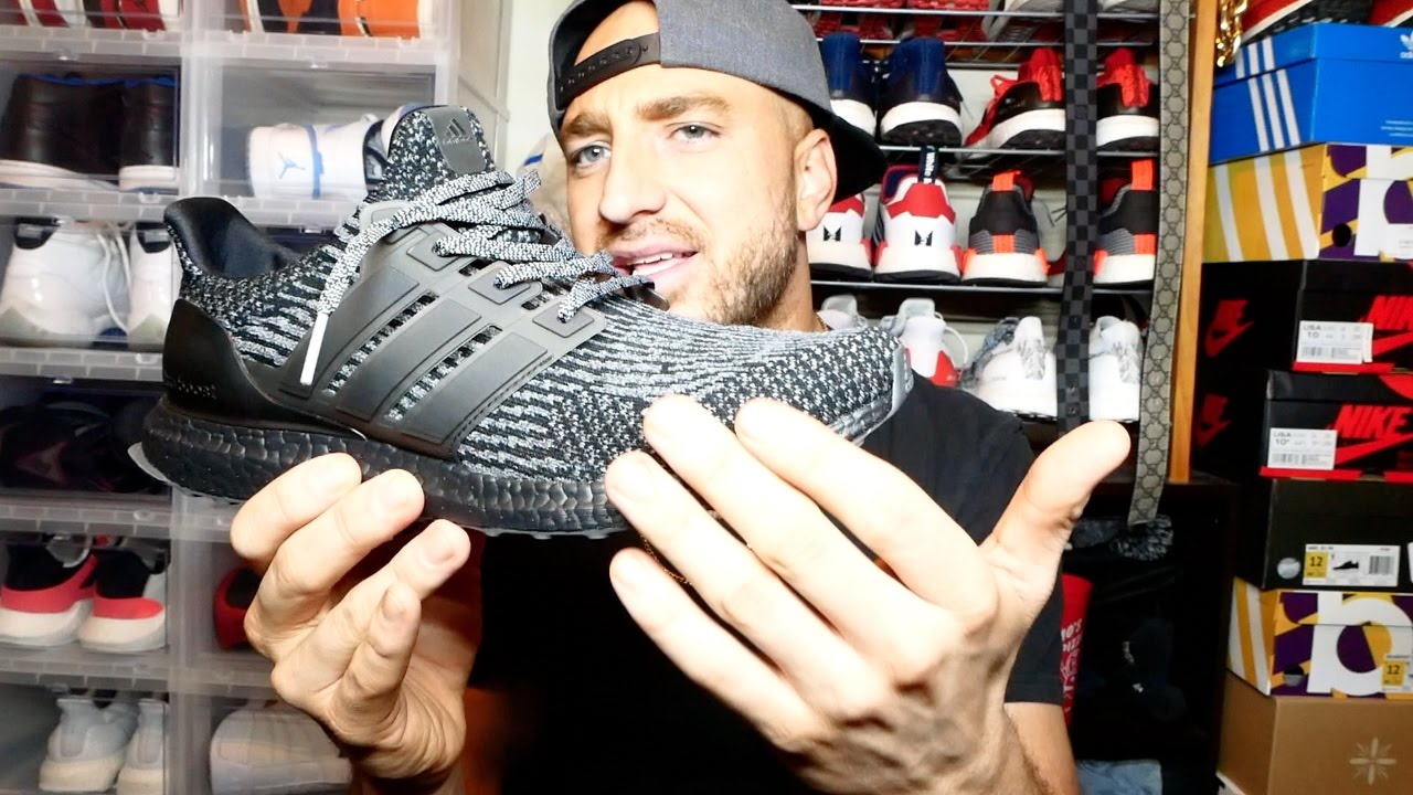 Adidas Ultra Boost Triple Black & Silver Review & On Feet!! + My uncle finally got HD!