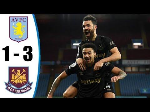 Lingard Shines on Debut | West Ham vs Aston Villa 3/1