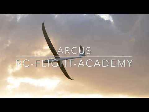 Rc Flight Academy Arcus 1/3,3 Mit Ceflix 750
