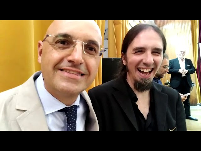 Andrea Le Moli e Davide Sisto backstage