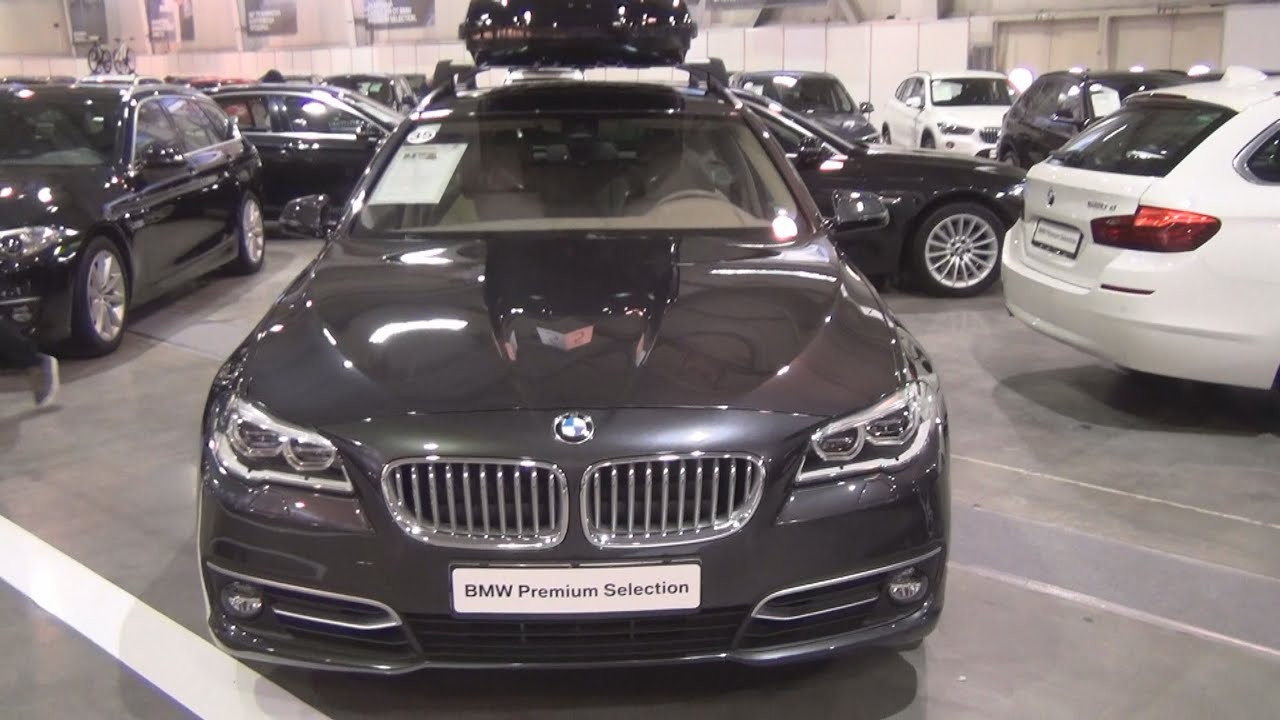 bmw 525d xdrive touring sophisto grey 2014 exterior and interior in 3d youtube. Black Bedroom Furniture Sets. Home Design Ideas