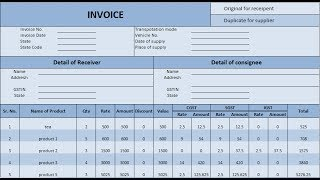This video is present by software info. in learn about how to create gst billing system and invoice of system. i am sho...