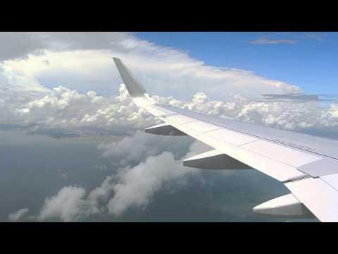 Landing RWY07L HK Express A320 HKT to HKG