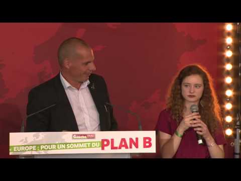 Débat plan B - Intervention de Yanis Varoufakis