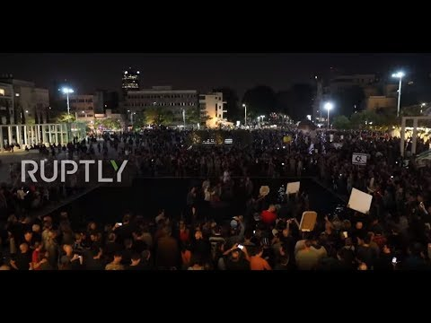 Israel: Tens of thousands join 'March of Shame' against Netanyahu